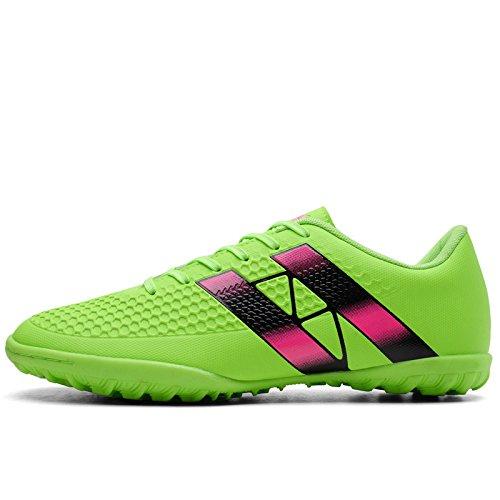 Xing Lin Fußballschuhe Fußball Schuhe Männer Und Frauen Erwachsene Kinder Gebrochen Nägel Fußball Schuhe Jungen Mädchen Sportschuhe, 42, Fluoreszierend Grün