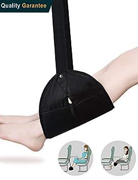 Portátil reposapiés, Meiso Foot Rest - Avión Viajes Viaje Avión Vuelo equipaje de mano reposapiés ajustable oficina pies hamaca pie accesorios de viaje ...