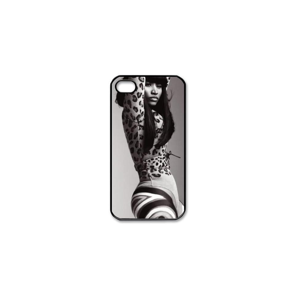CoverMonster Nicki Minaj Hard Plastic Case Back Cover for iphone 4 4s