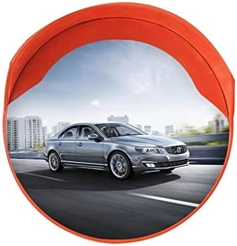 カーブミラー 死角をなくすための適切な安全な交通ミラー、屋外ユニバーサル安全凸面鏡、 RGJ4-25 (Size : 600mm)