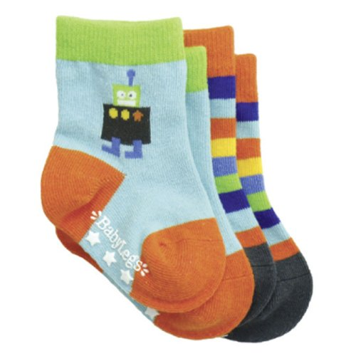 (BabyLegs Baby Boys' Galactic Socks, Assorted, 12 24 Months)