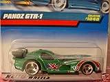 Mattel Hot Wheels 1999 1:64 Scale Green Panoz GTR-1 Die Cast Car Collector #1040