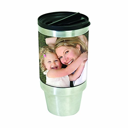 Photo Travel Mug (16 oz. Stainless Steel DIY Photo Tumbler)