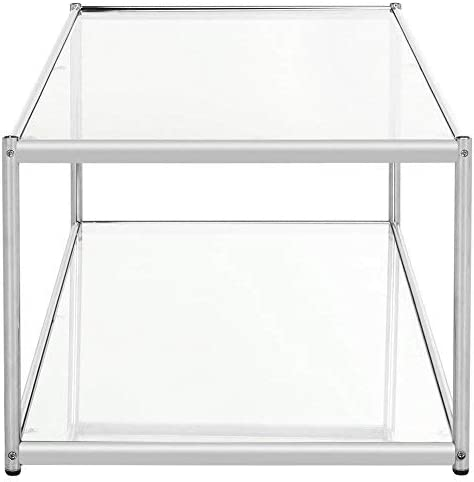 Safavieh Coffee Table, Chrome