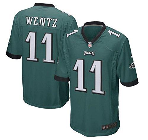 d3f057e65 Carson Wentz Philadelphia Eagles Youth Nike Green Game Jersey (Youth Sizes)