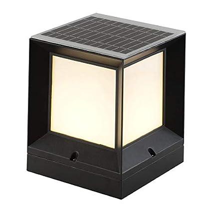 MMJ Luz Solar del jardín, 0 Electricidad honorario Cuadrado ...