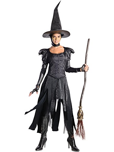 Rubie's Costume Disney's Oz The Great and Powerful Adult Deluxe Wicked Witch Of The West Dress and Hat, Black, Small -