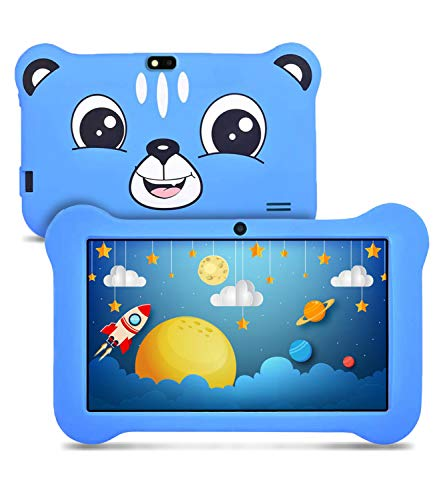Kids Tablet, Android 9.0 Tablet for Kids, 2GB RAM & 16GB ROM, Kids Edition Tablet with Kids-Proof Case Parental Control…