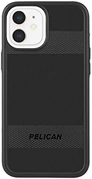 Pelican - Protector Series - Case for iPhone 12 Mini (5G) - 15 ft Drop Protection - 5.4 Inch - Black, Protecto