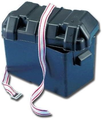 Caja para batería con tapa y correa de sujeción: Amazon.es: Bricolaje y herramientas