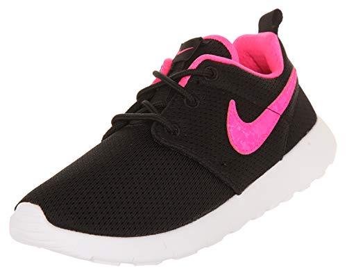 e53a1a30fa28 Galleon - Nike Kids Sneakers Roshe One (PS) Black Pink Blast-White 749422-014