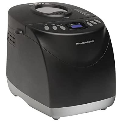 Hamilton Beach Programmable Bread Machine, 2-Pound Bread Maker with Gluten-Free Setting (29882)