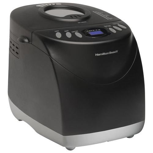 Hamilton Beach Programmable Bread Machine, 2-Pound Bread Maker with Gluten-Free Setting