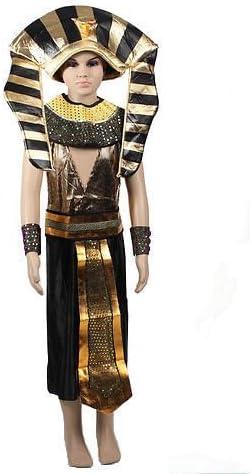 Kids egipcio faraón disfraz infantil de niños de Halloween fiesta ...
