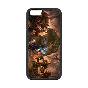 dota 2 dire team pudge tidehunter lich sand king terrorblade900 iPhone 6 Plus 5.5 Inch Cell Phone Case Black yyfD-354203