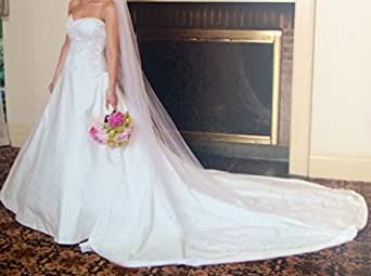 Candice solomon couture designer size 6 wedding dress at for Amazon designer wedding dresses