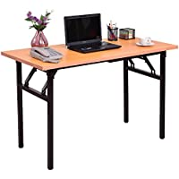 Foldable Multipurpose Table Computer Laptop Notebook PC Workstation Writing Desk Spacious Work Station Folding Design Home Office Living Room Kitchen Space Saving Multi-Function Furniture