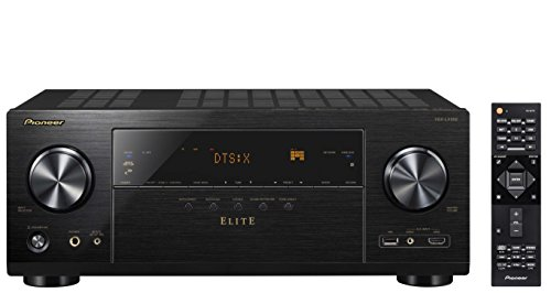 Pioneer Elite Audio & Video Component Receiver Black (VSX-LX302) (Component Video Elite)