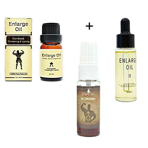 3Pcs Herbal Enlargement oils delay male enhancer spray enlarge maca oil penis Oil