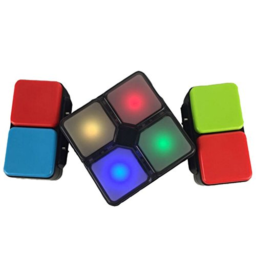 EA-STONE Magic Cube with Music and Light Change,Fidget Toy Puzzle Magic Family Game