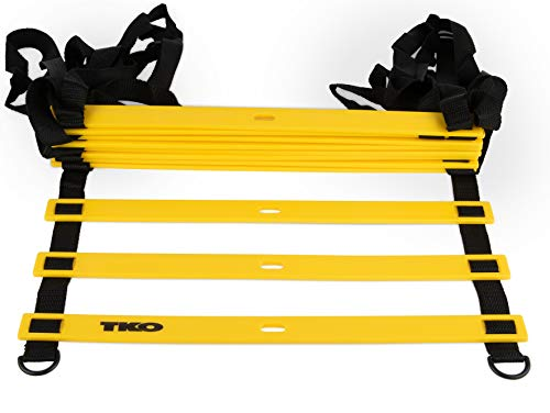 TKO Speed Ladder Step Training to Improve Agility and Coordination - Includes Ground Stakes and Carrying Bag by TKO (Image #1)