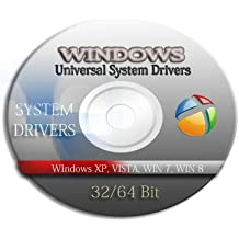 Universal XP Windows Drivers Restore Recovery CD / DVD Disk 32 / 64bit