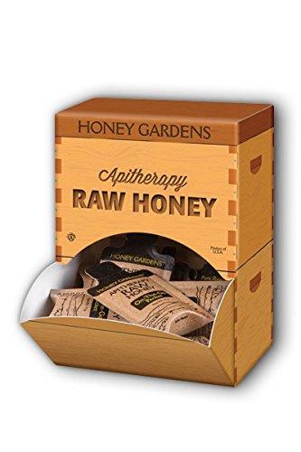 Raw Honey, On-the-Go Packet Honey Gardens 20 Packets Box Net WT 9.8 oz