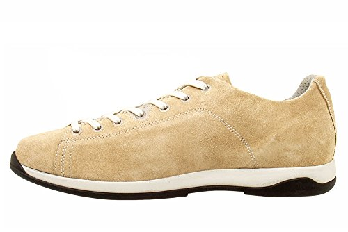 AKRON Suede Fashion Shoes, Vibram Sole + EVA, Focus Beige Capuccino 41