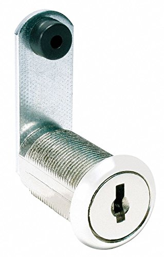 Different, Master-Keyed Standard Keyed Cam Lock, For Door Thickness (In.): 15/64, Bright Nickel