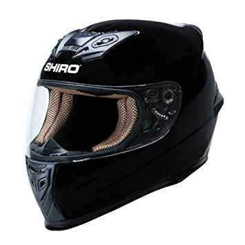 CASCO SHIRO INTEGRAL SH-821 MONOCOLOR NEGRO