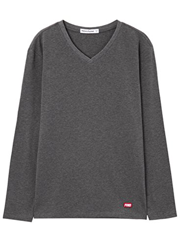 meters-bonwe-mens-solid-color-v-neck-long-sleeve-knitted-tee-deep-grey-l