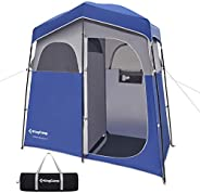 KingCamp Oversize 2 Persons Outdoor Easy Up Portable Dressing Changing Room Shower Privacy Shelter Tent