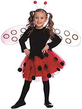 Dress Up America Disfraz de Mariquita para niñas: Amazon.es ...
