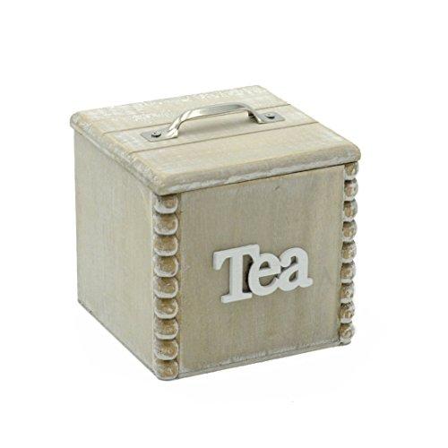 Vilys House Caja Madera para infusiones (Conjunto de 2 Unidades ...