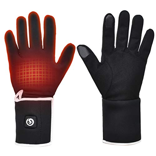 ladies heated gloves - 6