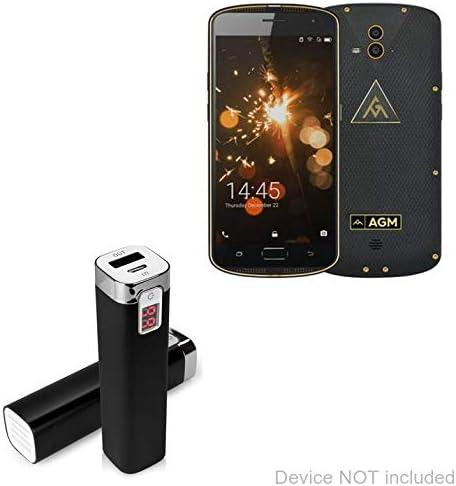 BoxWave AGM X1 - Cargador portátil para AGM X1 (2600 mAh), Color ...