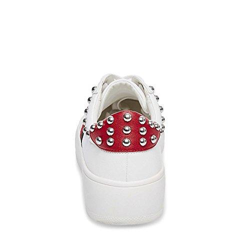 Steve Madden Women's Belle Sneaker White Multi online store discount pick a best best wholesale ZAOyXA