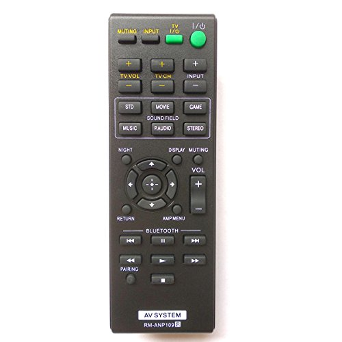 Universal Remote for Sony Audio System SA-CT260 SA-CT260H SA-WCT260H HTCT260 HT-CT260 HTCT260H HT-CT260H by Gorilla babo
