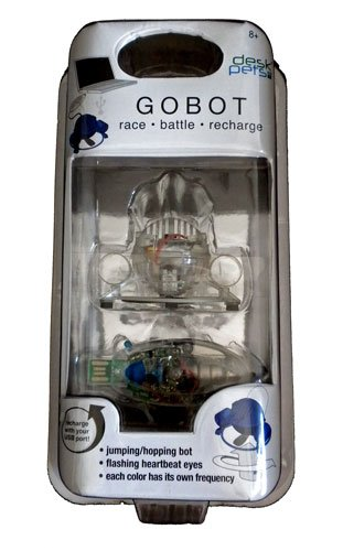Gobot Desk Pet - Clear Robot Remote Controlled ToyRobot