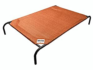 The Original Elevated Pet Bed By Coolaroo - Medium Terracotta