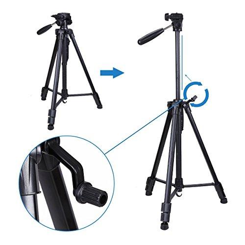 Regetek Travel Camera Tripod (Aluminum 63
