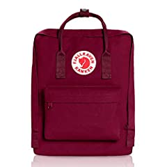 Straight backs are happy backs. Kanken was launched in 1978 to spare the backs of school children. Back problems had begun to appear in increasingly younger age groups and shoulder bags were popular. Kanken has many simple, clear functions. T...
