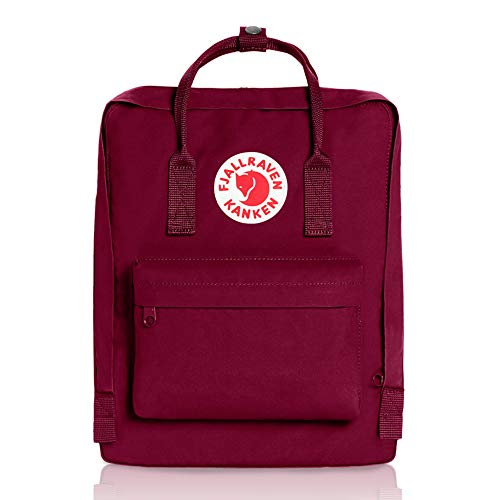 Fjallraven - Kanken Classic Pack, Heritage and Responsibility Since 1960, One Size,Plum