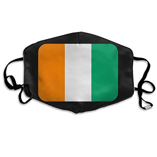 (SDQQ6 Ivory-Coast Mouth Mask Unisex Printed Fashion Face Mask Anti-dust Masks)