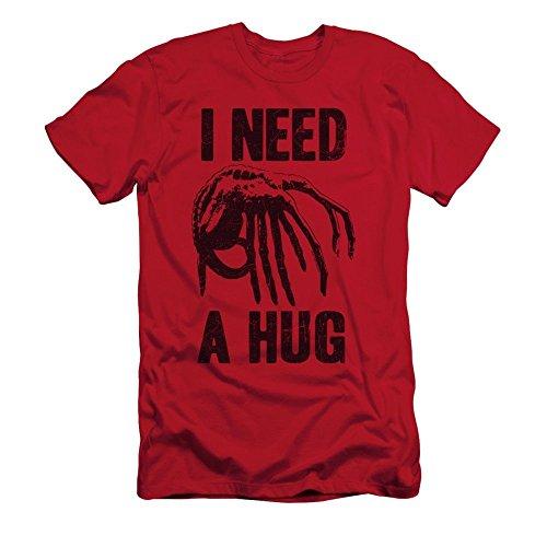 Alien Need A Hug Mens Short Sleeve Shirt