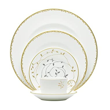 Wedgwood Vera Wang Gilded Leaf 5-Piece Place Setting