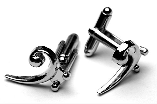 - Bass Clef Music Symbol Cufflinks Gift Boxed