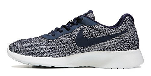Nike Womens Tanjun Indigo Shoe Oxidian / Pure Platinum 9.5