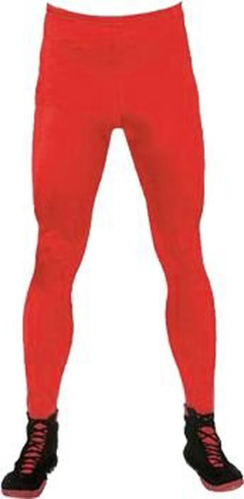 Red Wrestling Legging Costume Tights (Adult XXX-Large) by Life Clothing Co.
