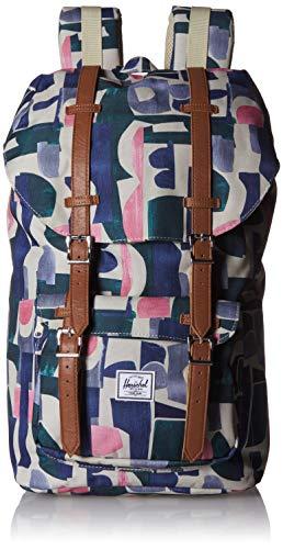 Herschel Little America Backpack, Abstract Block, One Size